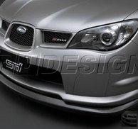 PU Design - STI S204 Style  Front Lip Subaru Impreza 06/07