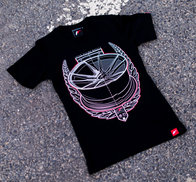 JR Women's T-Shirt JR-21 Laurel Black