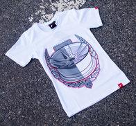 JR Women's T-Shirt JR-21 Laurel White