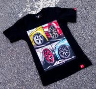 JR Women's T-Shirt MIX Black