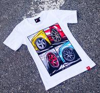 JR Women's T-Shirt MIX White