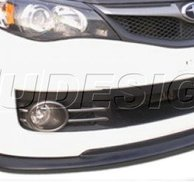 PU Design - STI Style  Front Lip Subaru Impreza STI 08/09