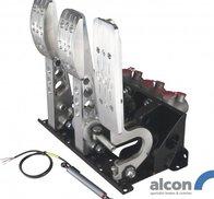 OBP - Elektroniskt gasspjäll / Golvmonterat pedalställ 3 pedaler 3x Alcon cylindrar PRO-Race