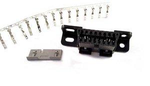 Kontaktdon 16-poligt OBD2