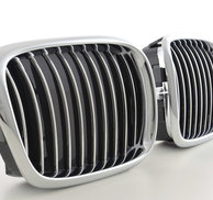 Chrome Grill -BMW E39 96-05