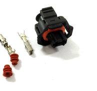 Kontaktdon 2-poligt hylsdon Bosch compact 1.a
