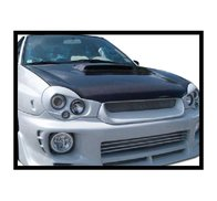 Carbon Fibre bonnet Subaru Impreza 2001, without air intake