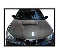Carbon Fibre bonnet Subaru Impreza 2006, without air intake