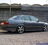 Bakspoiler Add-on Zend - Bmw E34