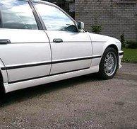 Sidokjolar M5 replica - Bmw E34