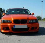 Frontspoiler E46 M3 style - Bmw E36