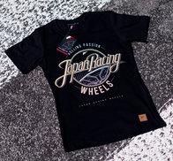 JR Women's T-Shirt Rolling Black