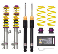 KW coilover kit V1 - Audi 80, 90; (89) sedan, coupé; 2WD screw M14 FA-susp strut bottom end