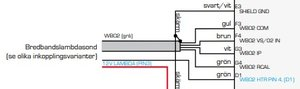 Bosch bredbandslambda LSU 4,2