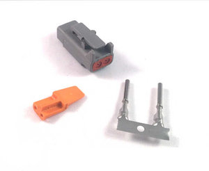 Kontaktdon 2-polig hylsdon DTM series