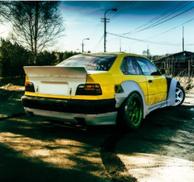 BMW E36 - ROCKET BUNNY STYLE FULL KIT