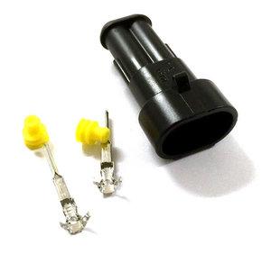 Kontaktdon 2-poligt stiftdon Superseal