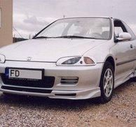Frontspoiler Add-on - Honda Civic 92-95