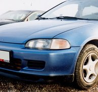 Frontspoiler Add-on - Honda Civic 92-95