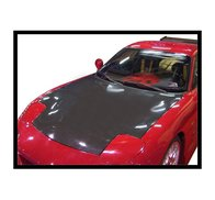 Carbon Fibre bonnet Mazda RX7, without air intake