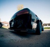 NISSAN 200SX S13 ROCKET BUNNY II STYLE - DIFUSSOR  CARBON BAK