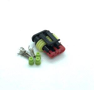 Kontaktdon 3-poligt Hylsdon Superseal