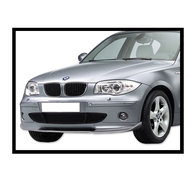 Front Spoiler BMW E87, Serie 1