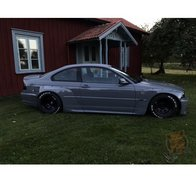 SIDESKIRTS BMW E46 COUPE
