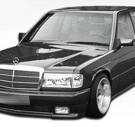Frontspoiler AMG style - Mercedes W201