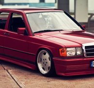 Frontspoiler Zender Add-on - Mercedes W201