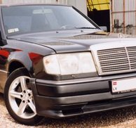 Frontspoiler Add-on - Mercedes W124