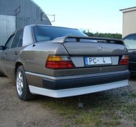 Bakspoiler Add-on - Mercedes W124