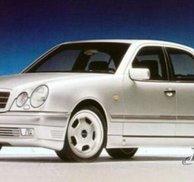 Sidokjolar Lorinser replica - Mercedes W210 E 95-99