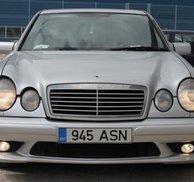 Frontspoiler W211 AMG style - Mercedes W210 E