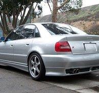 Bakspoiler läpp - Audi A4 B5