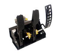 OBP - Golvmonterat pedalställ 3 pedaler 2x huvudcylindrar (Vajerkoppling)