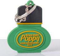 Poppy nyckelring Tall