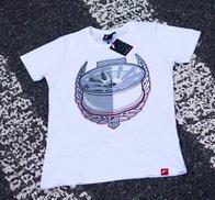 JR Men's T-Shirt JR-11 Laurel White