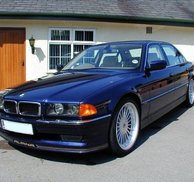 Frontspoiler add-on Alpina - Bmw E38