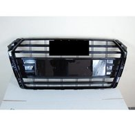 Grill Audi A4 2016+ Look S4 Black
