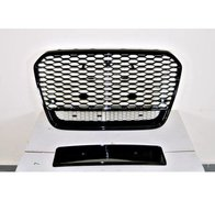 Grill Audi A6 11-15 Look RS6 Black II