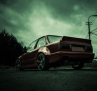 BMW E30 - ROCKET BUNNY DUCKTAIL
