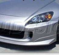 PU Design - AMS Style Front Bumper Lip Honda S2000