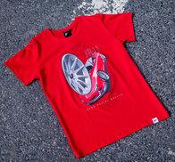 JR Men's T-Shirt JR-11 Car Red