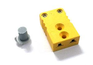 Kontaktdon 2-poligt hylsdon Mini-k (typ-k element) HONA