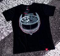 JR Men's T-Shirt JR-11 Laurel Black
