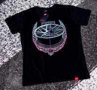 JR Men's T-Shirt JR-18 Laurel Black