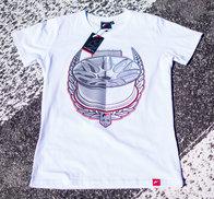 JR Men's T-Shirt JR-18 Laurel White