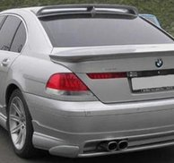 Bakspoiler Add-on Hamann style - Bmw E65