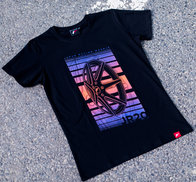 JR Men's T-Shirt JR-20 Face Black